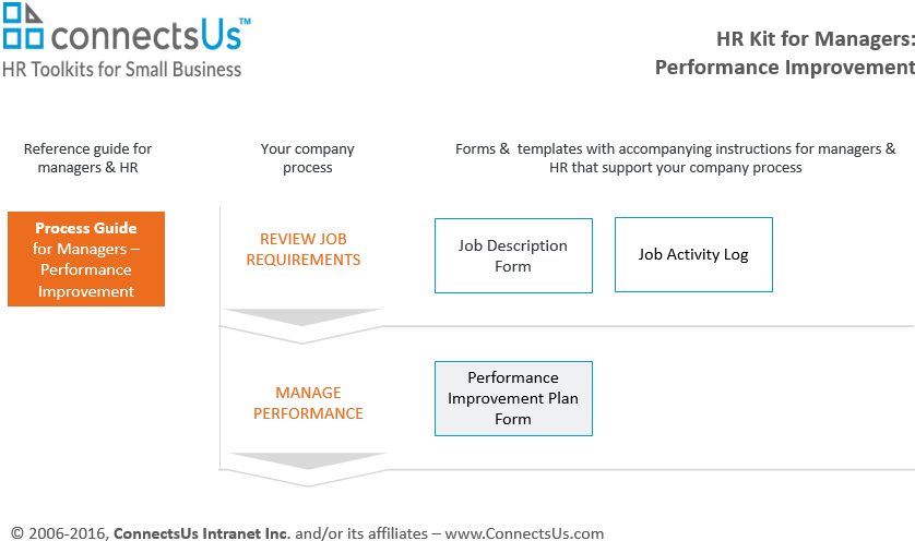 Performance Improvement Plan Form Template Sample